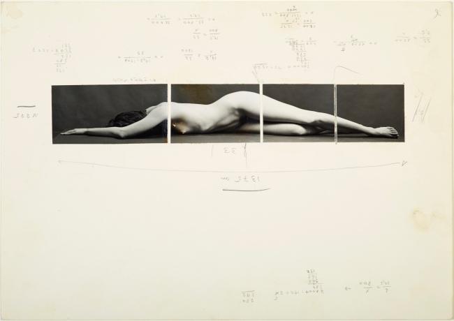 Balthasar Burkhard (1944-2010) 'Design for Body II' c. 1983