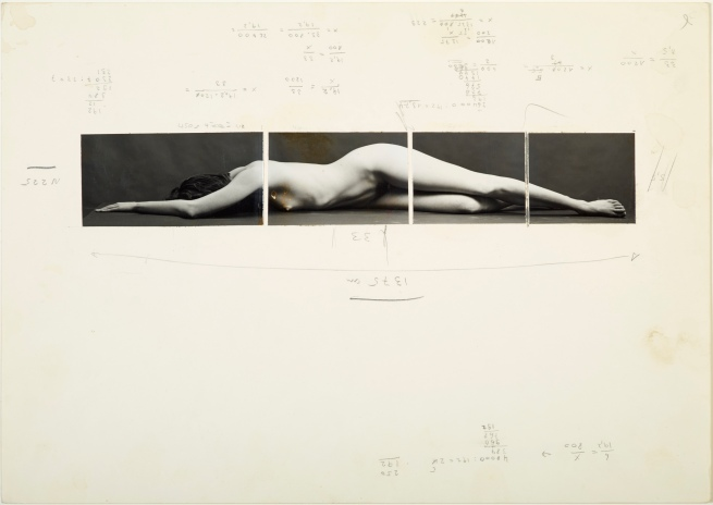 Balthasar Burkhard (1944-2010) 'Design for Body II' c. 1983