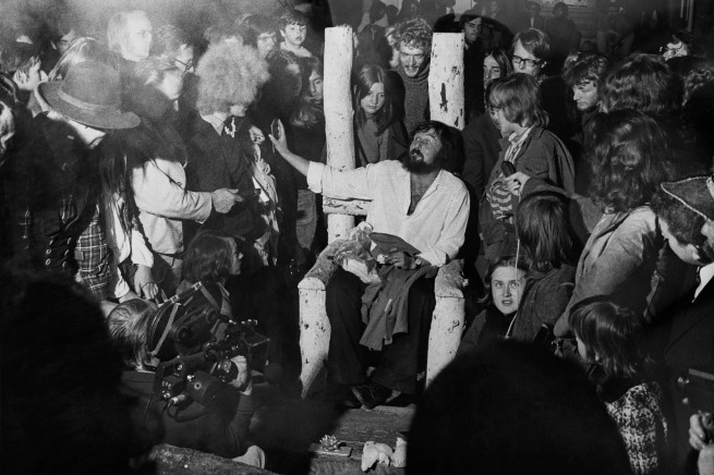 Balthasar Burkhard (1944-2010) 'oT (Harald Szeemann, the last day of documenta 5), Kassel' 1972