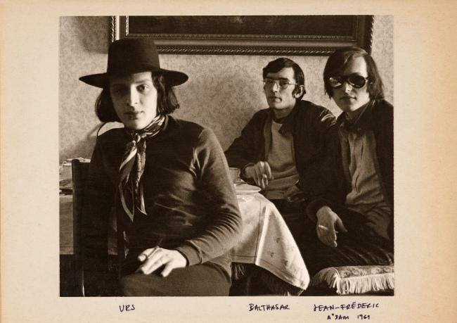 Balthasar Burkhard (1944-2010) 'oT (Urs Luthi, Balthasar Burkhard, Jean-Frederic Schnyder), Amsterdam' 1969