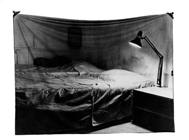 Balthasar Burkhard (1944-2010) / Markus Raetz. 'The Bed' 1969/70