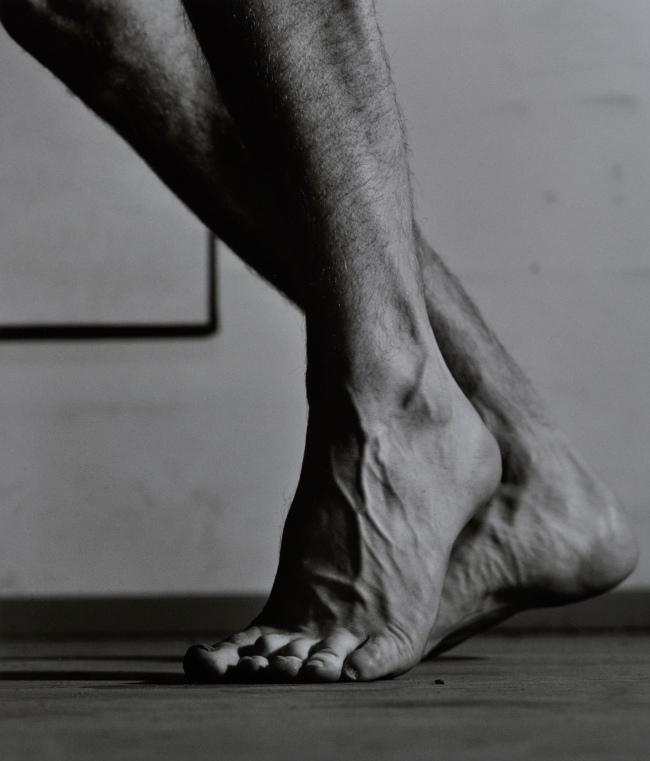 Balthasar Burkhard (1944-2010) 'feet 2' 1980