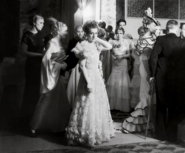 Brassaï(Gyulá Halász, 1899 - 1984) 'Haute Couture Soirée' 1935