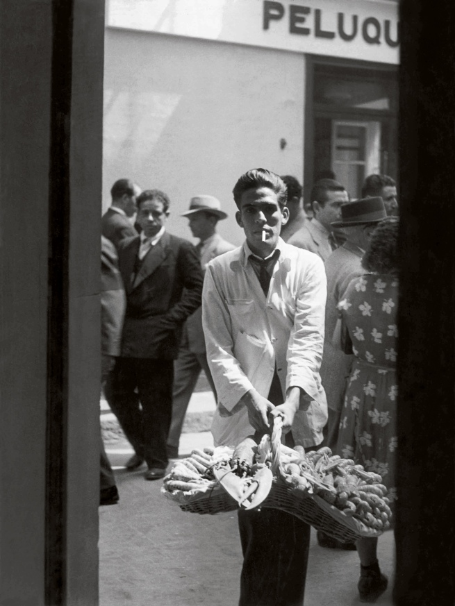Brassaï(Gyulá Halász, 1899 - 1984) 'Lobster Seller, Seville' 1951