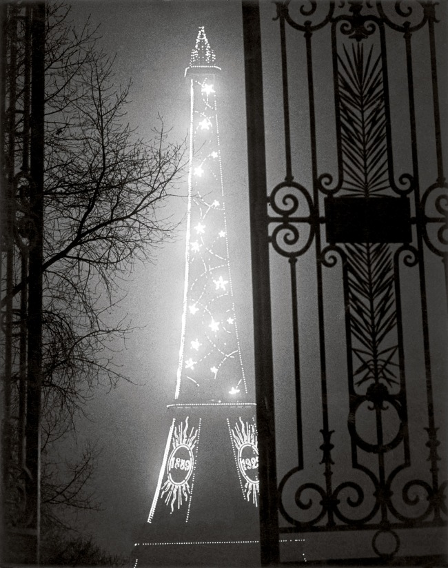 Brassaï (Gyulá Halász, 1899 - 1984) 'The Eiffel Tower seen through the Gate of the Trocadéro' 1930-32