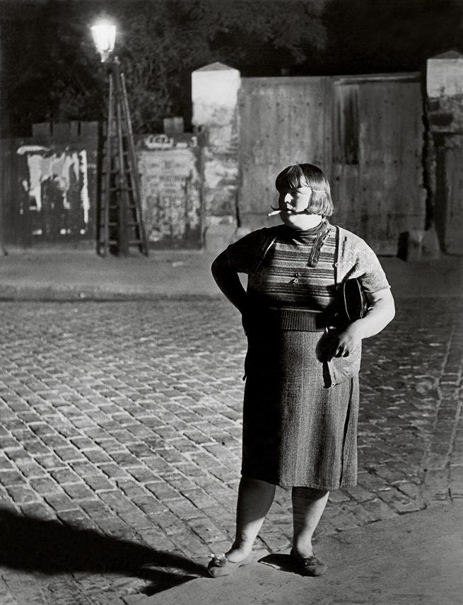 Brassaï(Gyulá Halász, 1899 - 1984) 'Streetwalker, near the place d'Italie' 1932