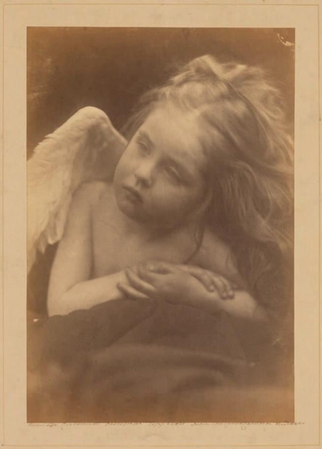 Julia Margaret Cameron (1815-79) 'Daisy Taylor' 1872