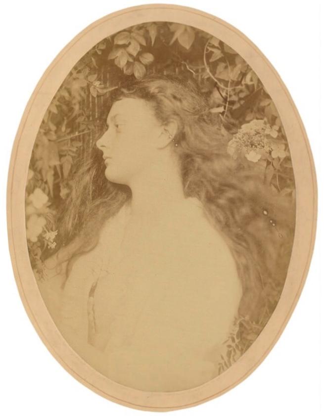 Julia Margaret Cameron (1815-79) ''Alethea' (Alice Liddell)' 1872