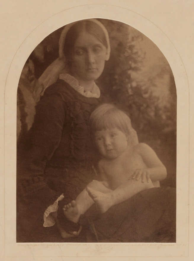 Julia Margaret Cameron (1815-79) 'Julia Prinsep Stephen (née Jackson, formerly Mrs Duckworth); Gerald Duckworth' August 1872