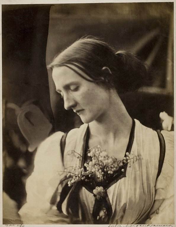 Julia Margaret Cameron (1815-79) 'Mary Fisher (Mrs Herbert Fisher)' 1866-67