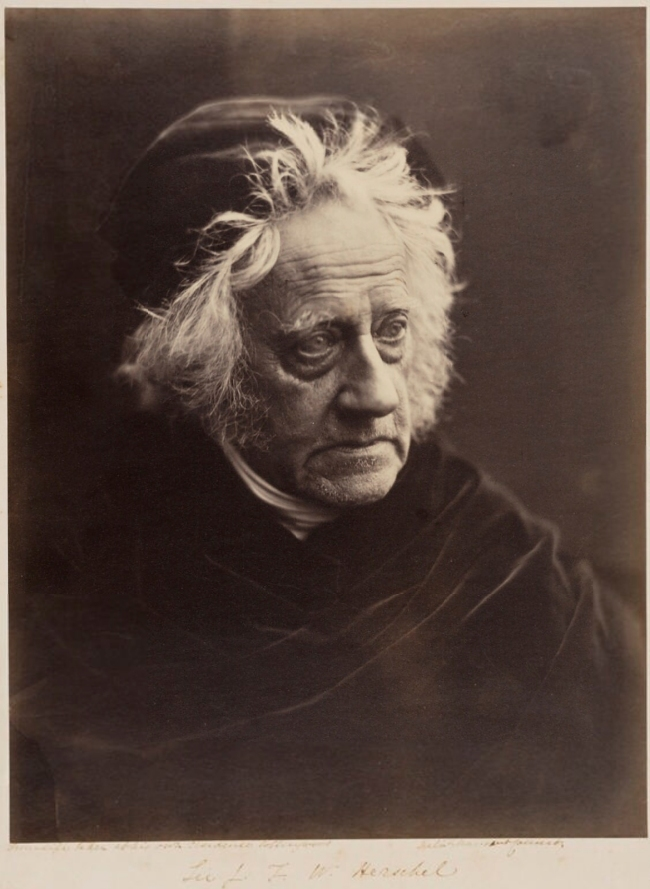 Julia Margaret Cameron (1815-79) 'Sir John Frederick William Herschel, 1st Bt' 1867