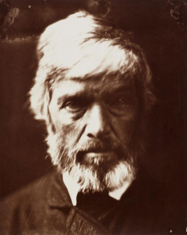 Julia Margaret Cameron (1815-79) 'Thomas Carlyle' 1865