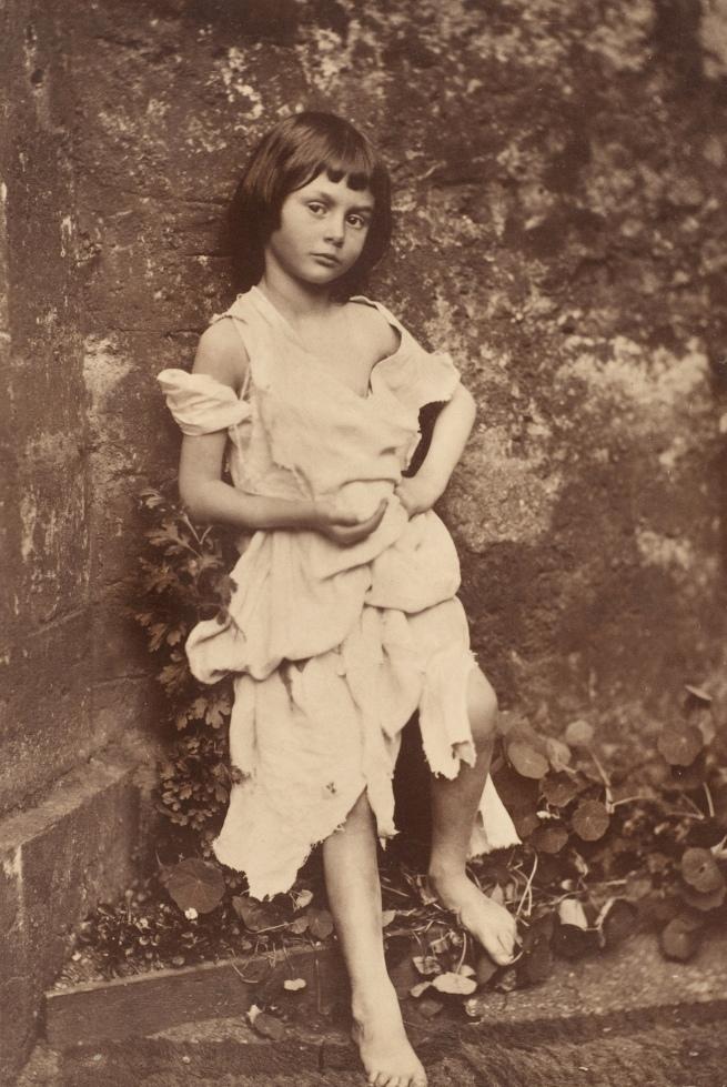 Lewis Carroll (1832-98) 'Alice Liddell as 'The Beggar Maid'' Summer 1858