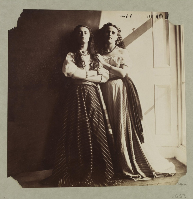 Clementina Hawarden (1822-65) 'Photographic Study (Florence Elizabeth and Clementina Maude)' 1863-4