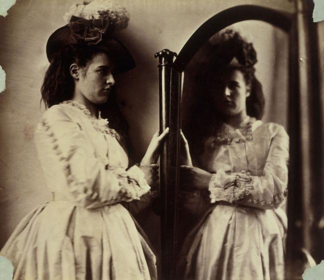 Clementina Hawarden (1822-65) 'Photographic Study, 5 Princes Gardens (Clementina Maude)' 1863-1864