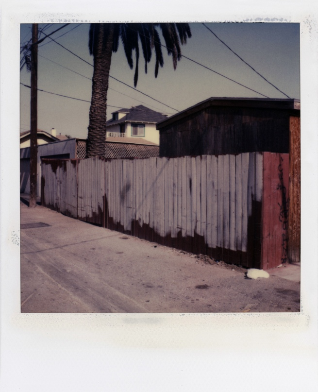 Dennis Hopper. 'Los Angeles, Back Alley' 1987