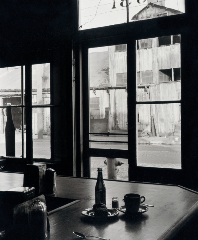 Minor White(American, 1908-1976) 'Water Street, Portland' 1939