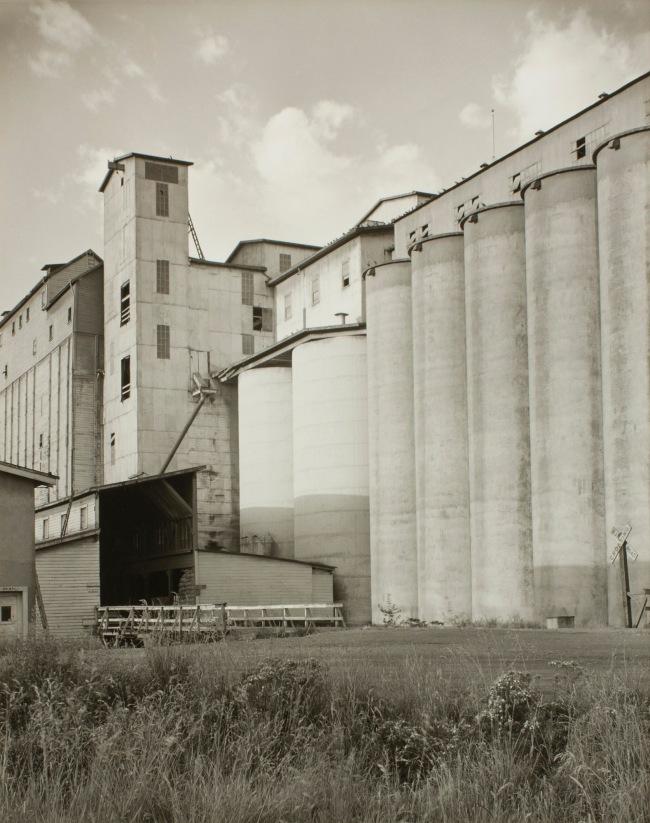 Minor White(American, 1908-1976) 'Untitled (Grain Elevators)' c. 1939