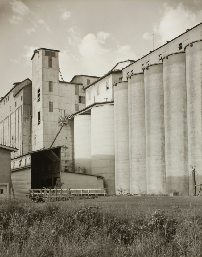 Minor White (American, 1908-1976) 'Untitled (Grain Elevators)' c. 1939