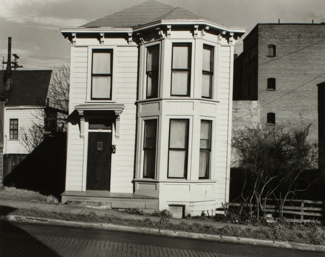 Minor White(American, 1908-1976) 'Untitled (House at 27th Southwest Hall Street)' c. 1939