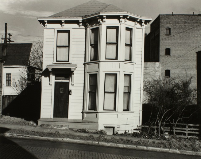 Minor White (American, 1908-1976) 'Untitled (House at 27th Southwest Hall Street)' c. 1939