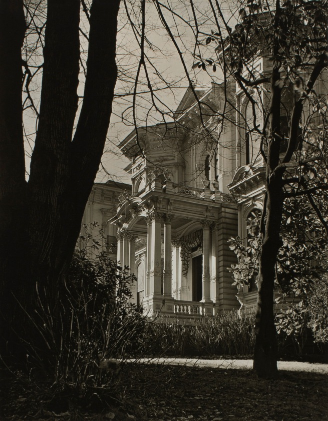 Minor White (American, 1908-1976) 'Jacobs House (Jacobs-Dolph House, Southwest Park and Montgomery)' c. 1939