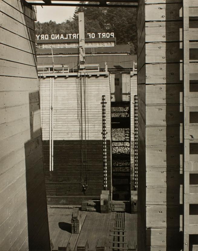 Minor White(American, 1908-1976) 'Design (Portland Dry Docks)' c. 1939