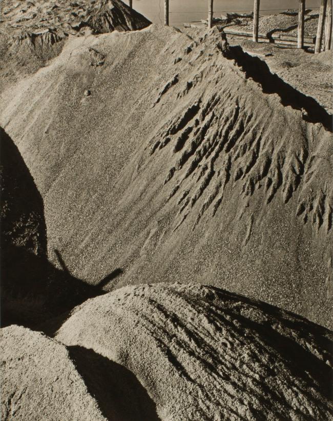 Minor White(American, 1908-1976) 'Untitled (Sawdust)' c. 1939