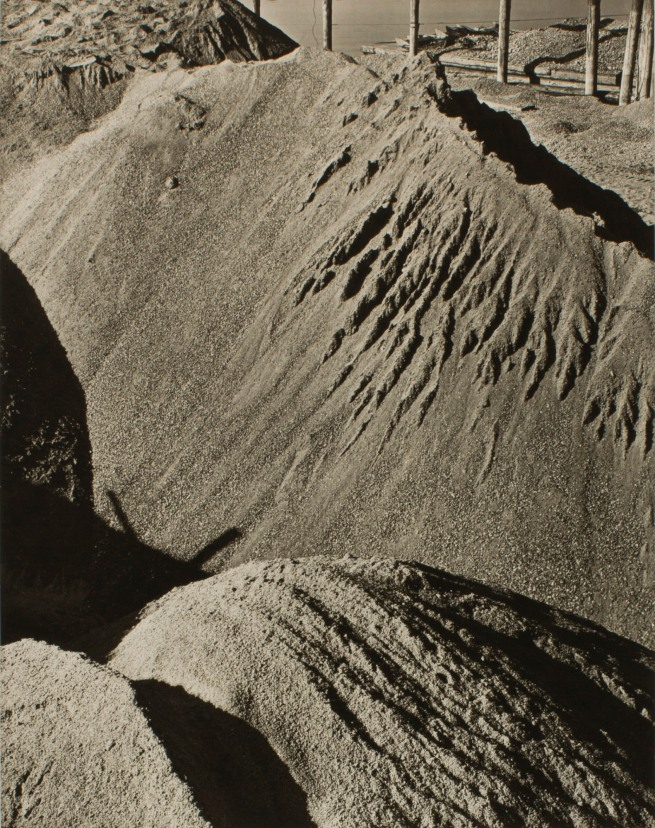 Minor White (American, 1908-1976) 'Untitled (Sawdust)' c. 1939