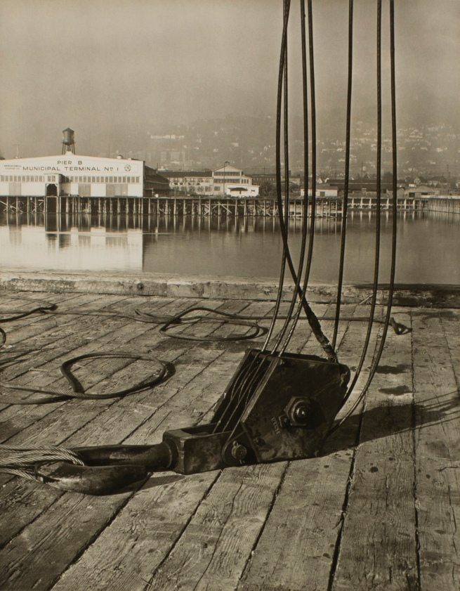 Minor White (American, 1908-1976) 'Untitled (Pier B Municipal Terminal No. 1)' c. 1939