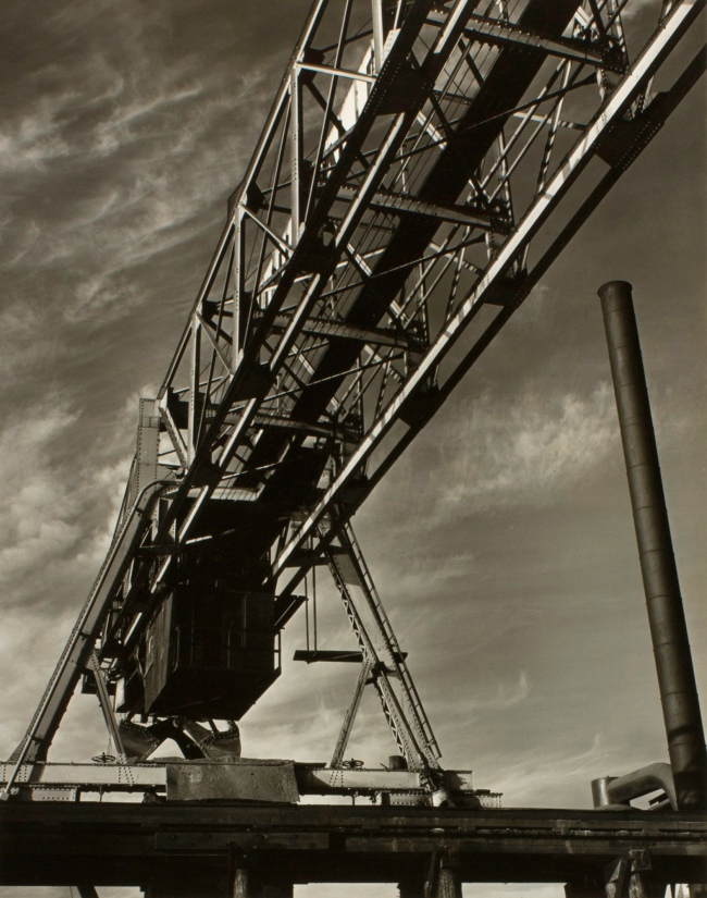 Minor White (American, 1908-1976) 'Untitled (Girder)' c. 1939