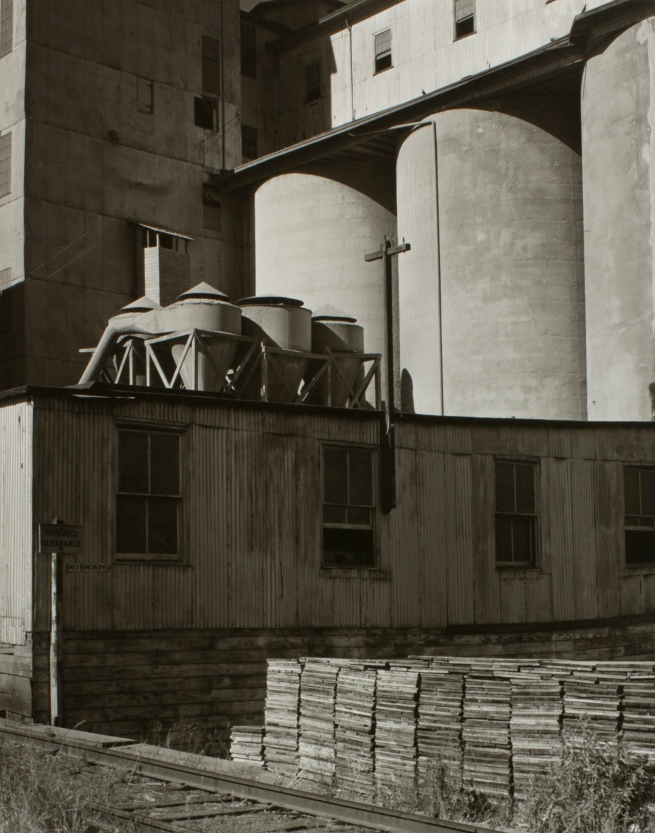 Minor White (American, 1908-1976) 'Grain Tanks' c. 1940