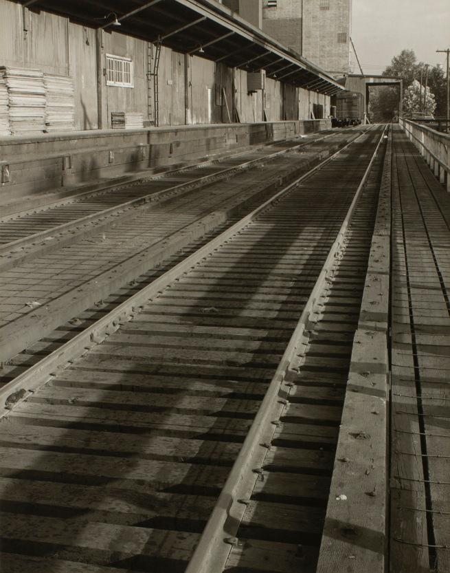 Minor White(American, 1908-1976) 'Freight Depot' c. 1939