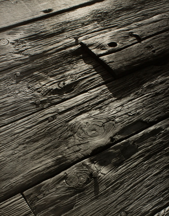 Minor White (American, 1908-1976) 'Boards' c. 1939