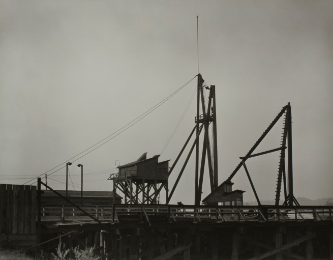 Minor White (American, 1908-1976) 'Untitled (Dock)' c. 1939