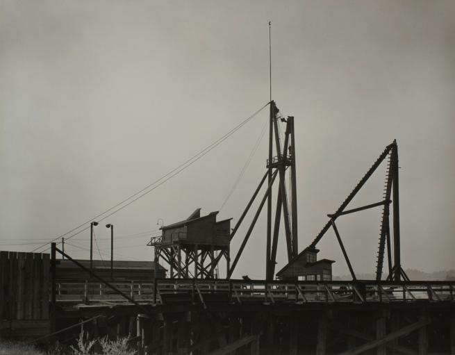 Minor White(American, 1908-1976) 'Untitled (Dock)' c. 1939