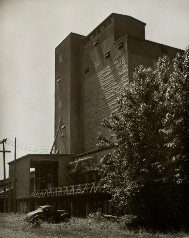Minor White(American, 1908-1976) 'Untitled (Elevator, Tree, Car)' c. 1939