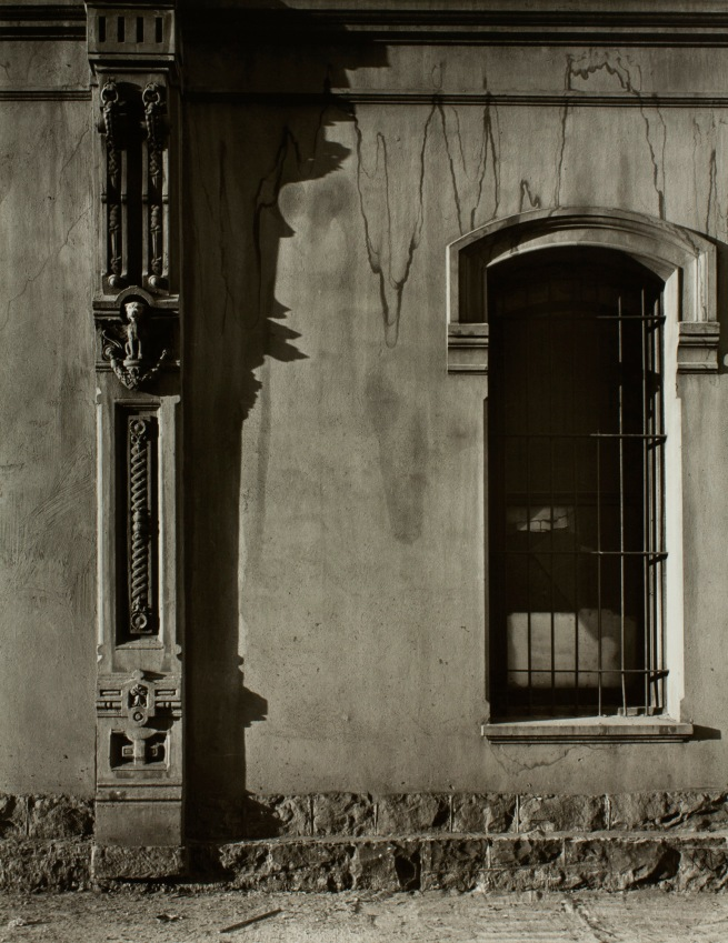 Minor White (American, 1908-1976) 'Pilaster and Hood Molding, Dodd Building (Southwest Front and Ankeny)' c. 1939