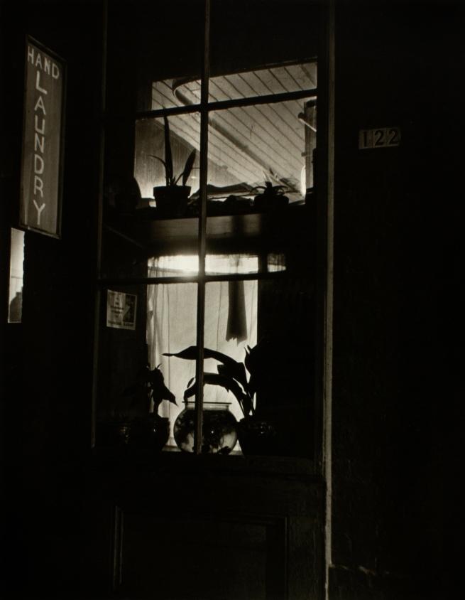 Minor White(American, 1908-1976) 'China Town' c. 1939