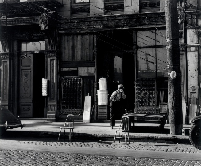 Minor White(American, 1908-1976) '1323-29 Southwest First Avenue' 1939