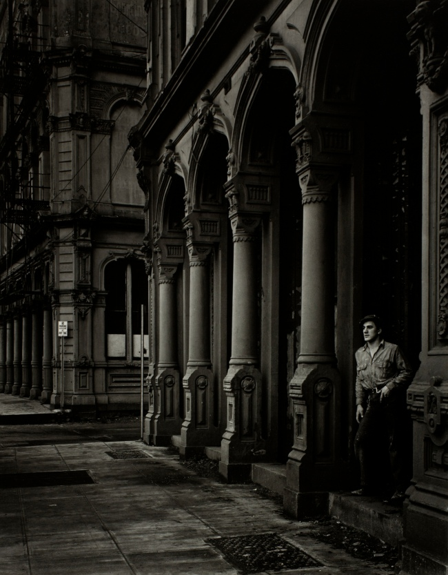 Minor White(American, 1908-1976) 'Arches of the Dodd Building (Southwest Front Avenue and Ankeny Street)' 1938