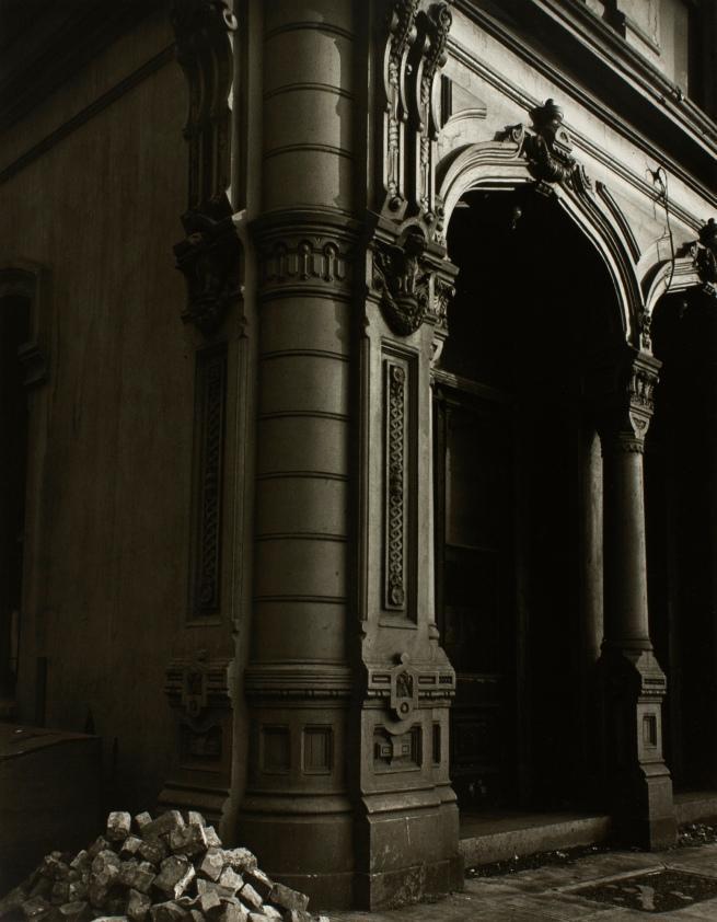 Minor White(American, 1908-1976) 'Doorway,Dodd Building' c. 1939