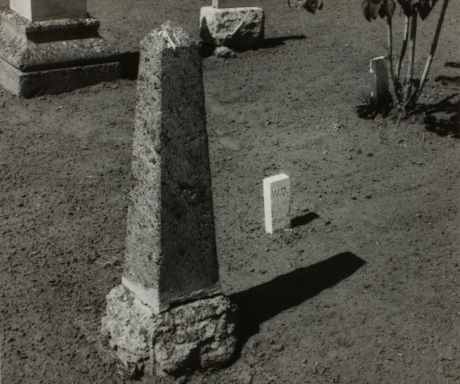 Minor White (American, 1908-1976) 'Joseph, Oregon (Joseph Cemetery)' c. 1940