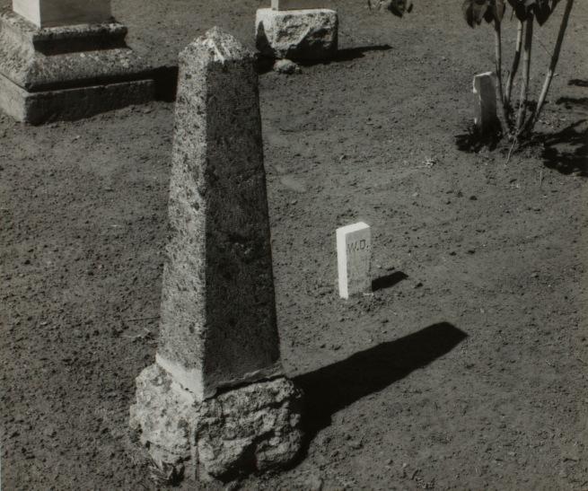 Minor White(American, 1908-1976) 'Joseph, Oregon (Joseph Cemetery)' c. 1940