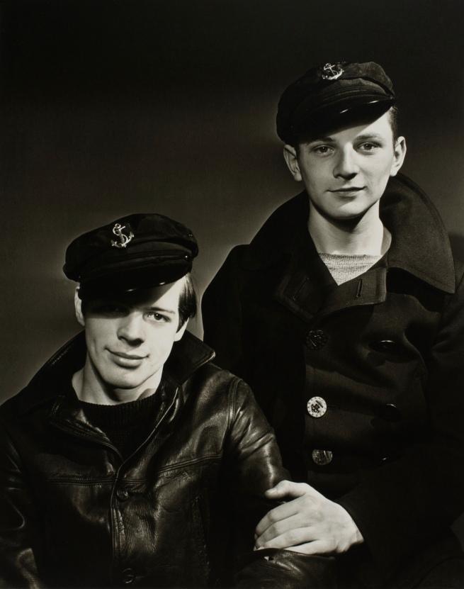 Minor White(American, 1908-1976) 'Shipmates Visit the Photographer' c. 1939