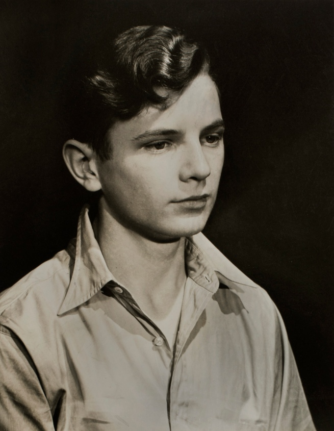 Minor White (American, 1908-1976) 'Untitled (Young Man)' c. 1939