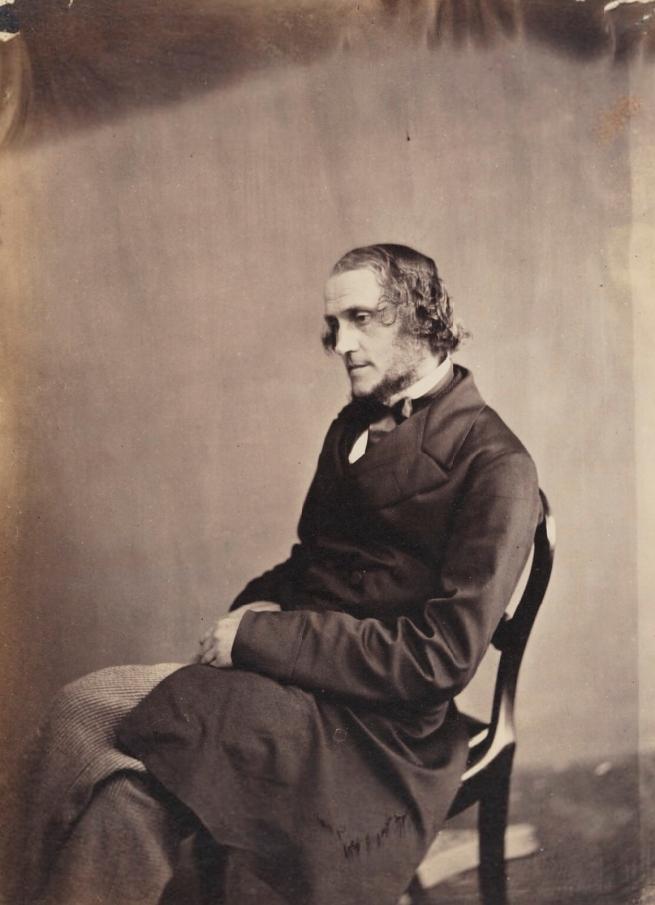 Lewis Carroll (1832-98) 'Benjamin Woodward' Late 1850s