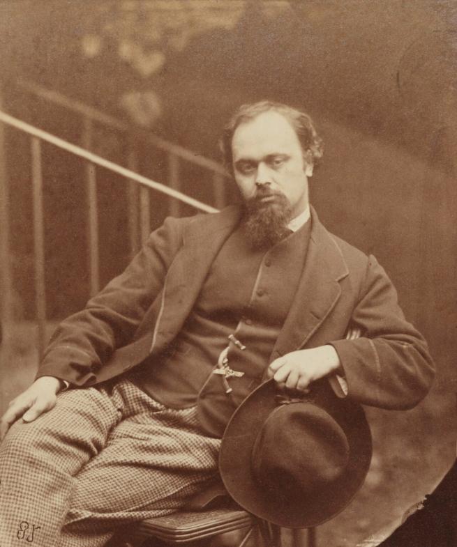 Lewis Carroll (1832-98) 'Dante Gabriel Rossetti' 7 October 1863