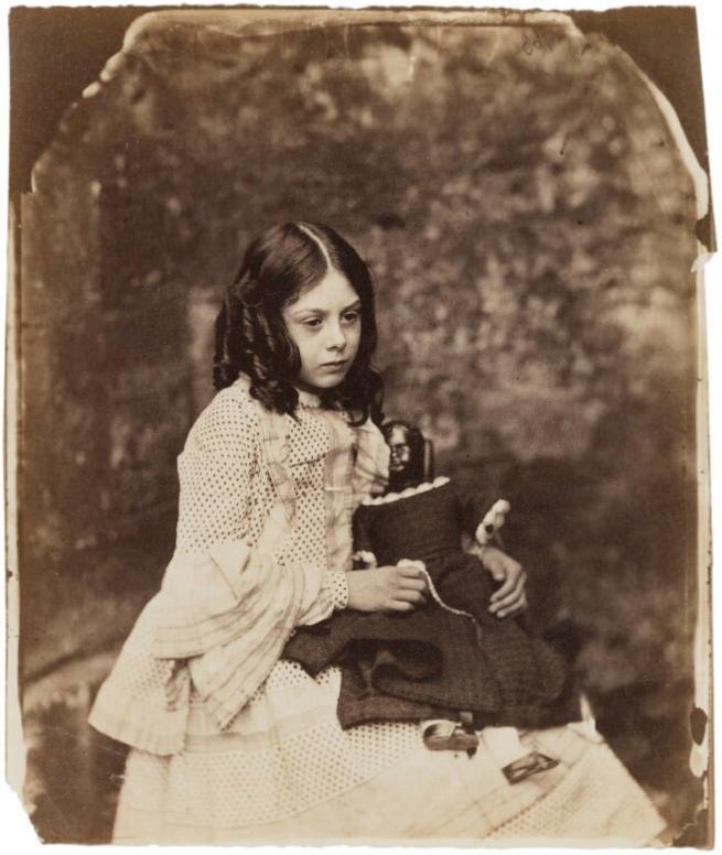 Lewis Carroll (1832-98) 'Ina Liddell' Summer 1858