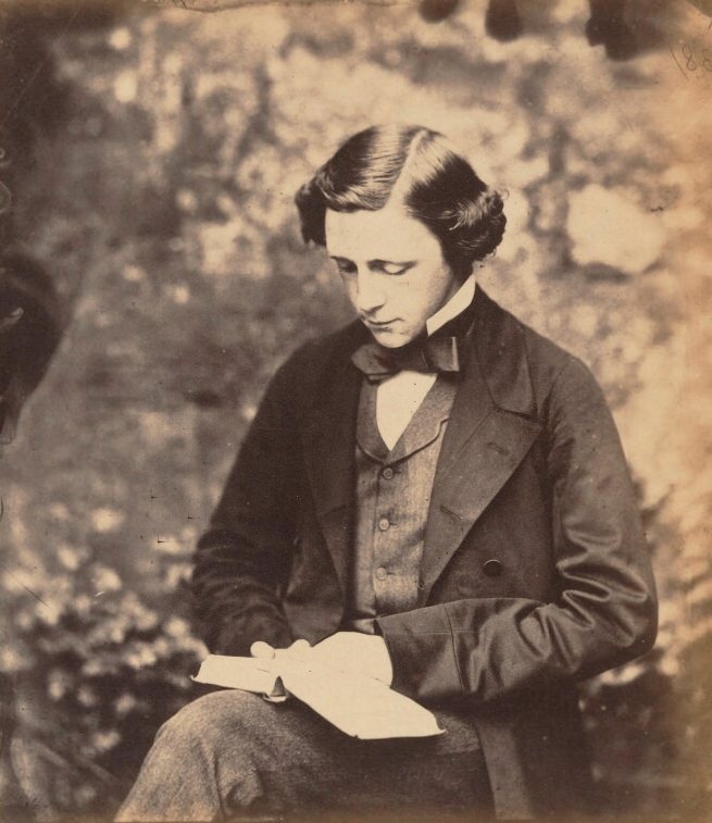 Lewis Carroll (1832-98) 'Lewis Carroll' c. 1857